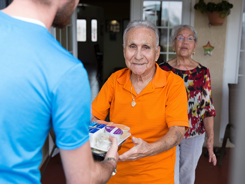 meals on wheels senior meal delivery